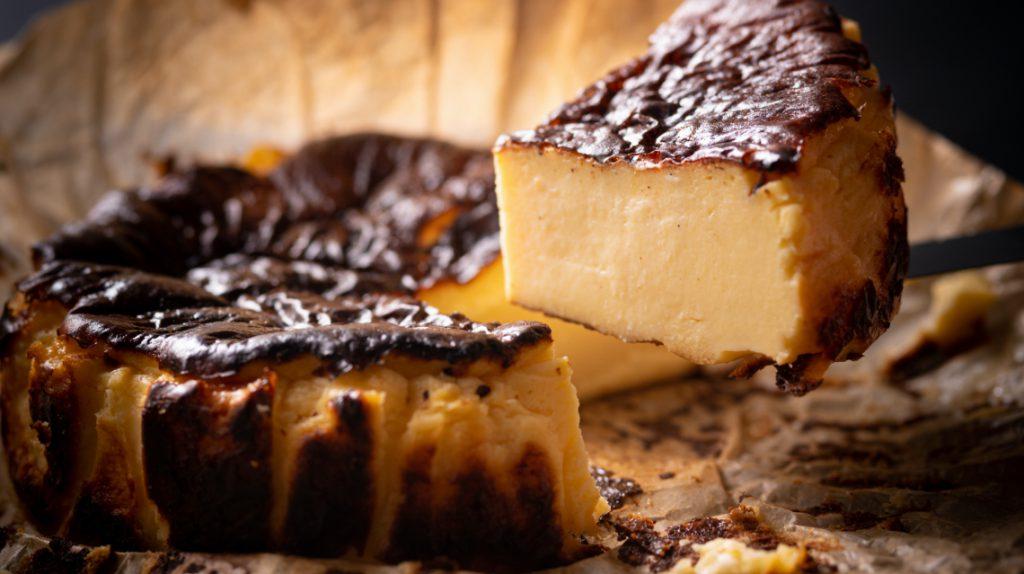 バーン チーズケーキ
